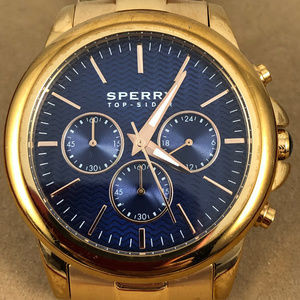 Sperry  Rose Gold Navy Halyard Chronograph Watch